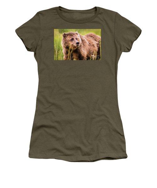 Grizzly In Lake Clark National Park, Alaska Women's T-Shirt