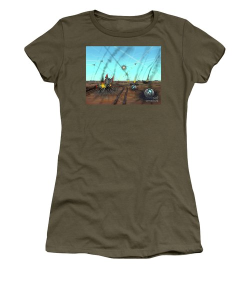 Ground Battle Women's T-Shirt