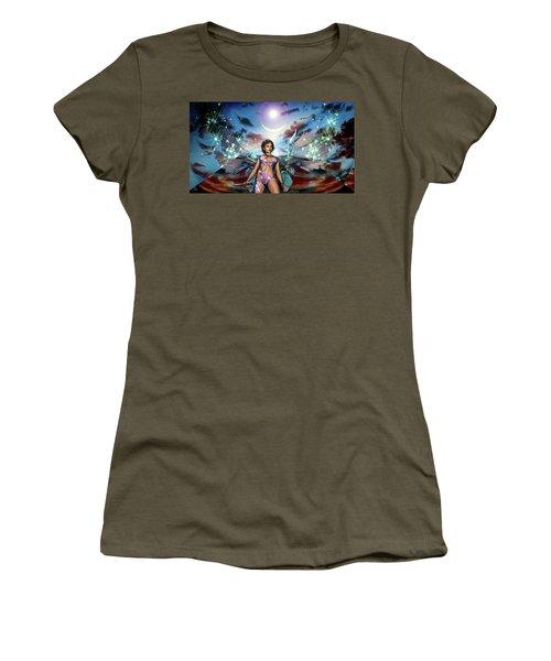 Guarding The Monolith Women's T-Shirt