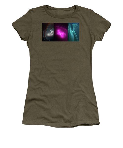 Happy Accident Triptych Women's T-Shirt