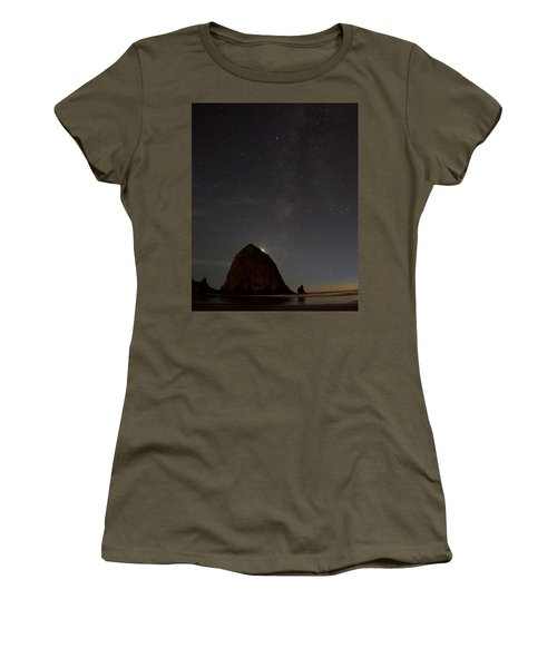 Haystack Night Under The Stars Women's T-Shirt