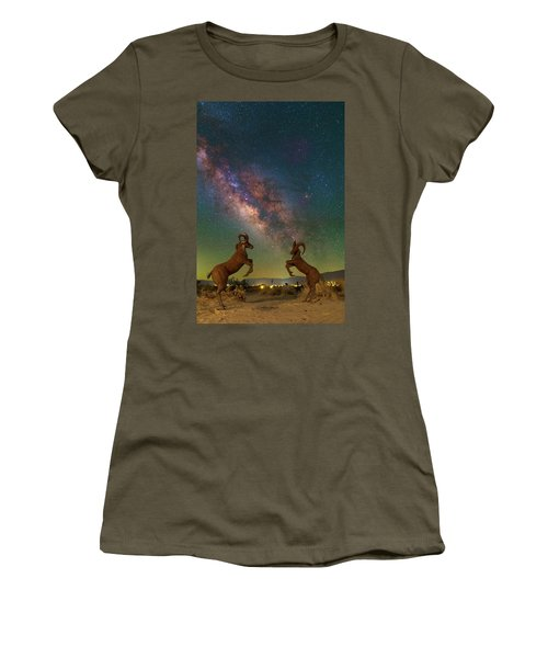 Head To Head With The Galaxy Women's T-Shirt