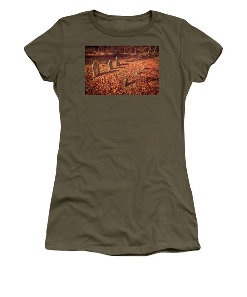 Headstones And Footstones Forgotten Women's T-Shirt