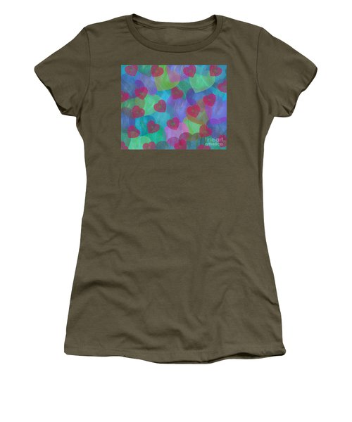 Hearts Aflame Women's T-Shirt