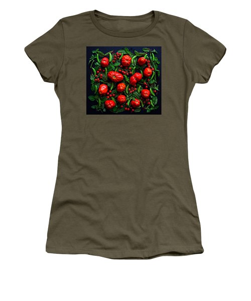 Heirloom Tomatoes And Peas Women's T-Shirt