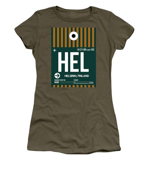 Hel Helsinki Luggage Tag II Women's T-Shirt
