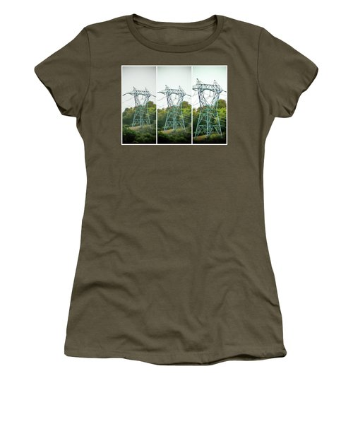High-voltage Power Transmission Towers 1 Women's T-Shirt