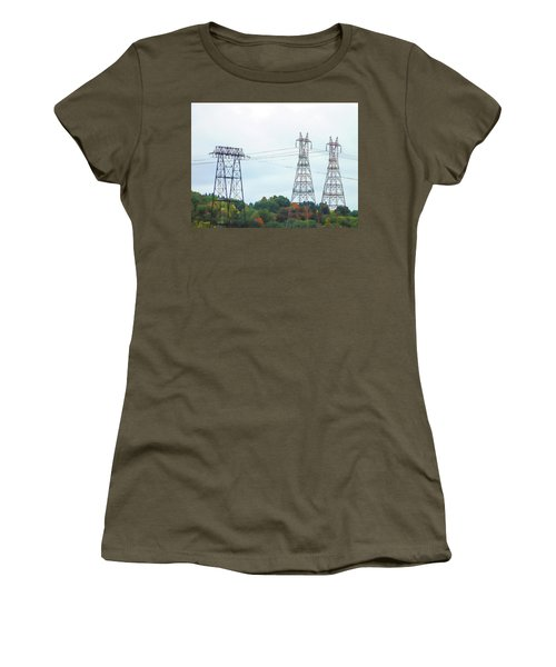 High-voltage Power Transmission Towers  2 Women's T-Shirt