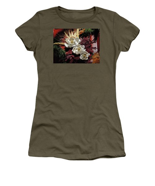 Women's T-Shirt (Athletic Fit) featuring the photograph Holiday Shells by Don Moore