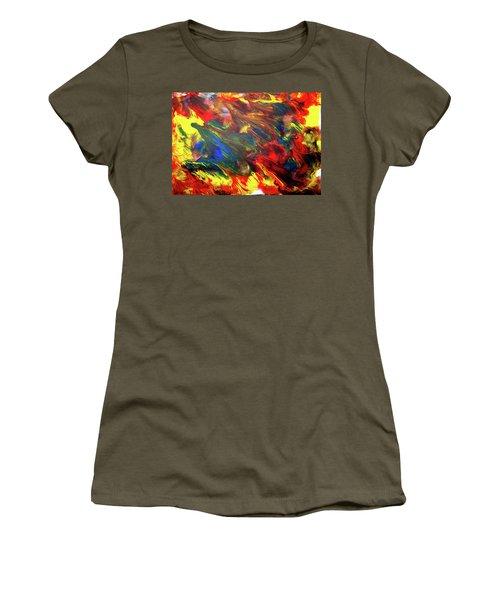 Hot Colors Coolling Women's T-Shirt