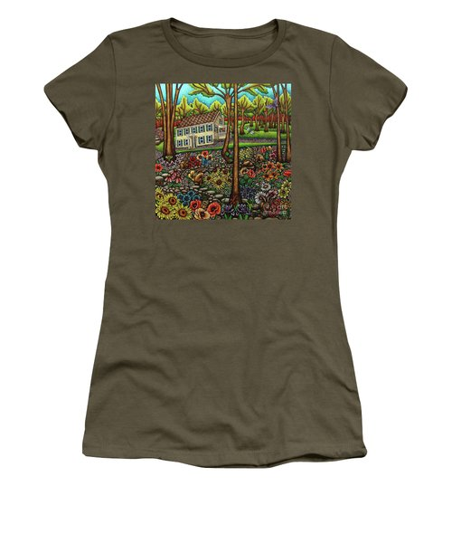 House In The Meadow  Women's T-Shirt