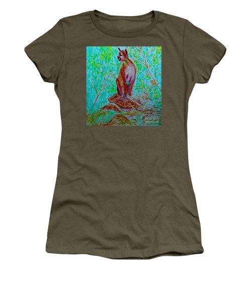 Hungry Mountain Lion Women's T-Shirt