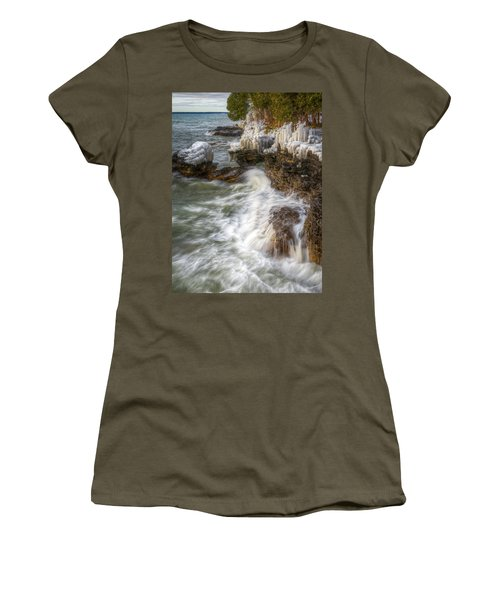 Ice And Waves Women's T-Shirt