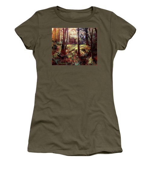 In Him We Live, And Move, And Have Our Being Women's T-Shirt