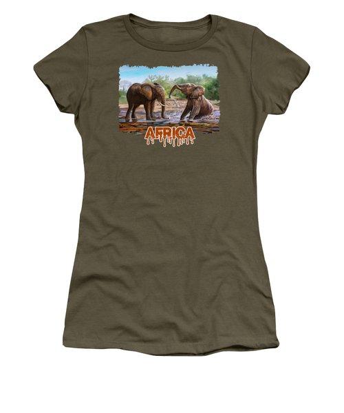In The Muddy Pool Women's T-Shirt