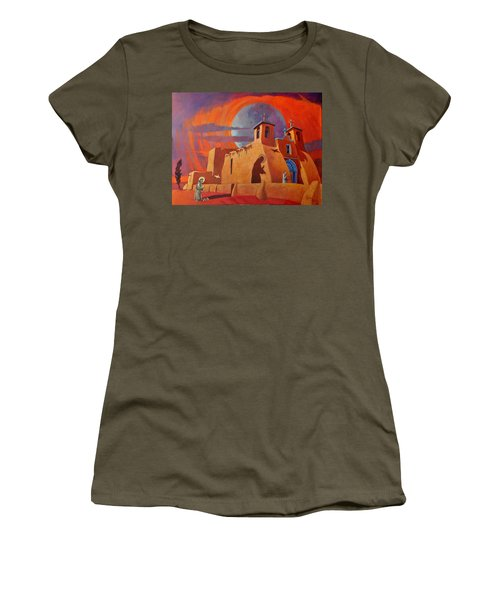 In The Shadow Of St. Francis Women's T-Shirt