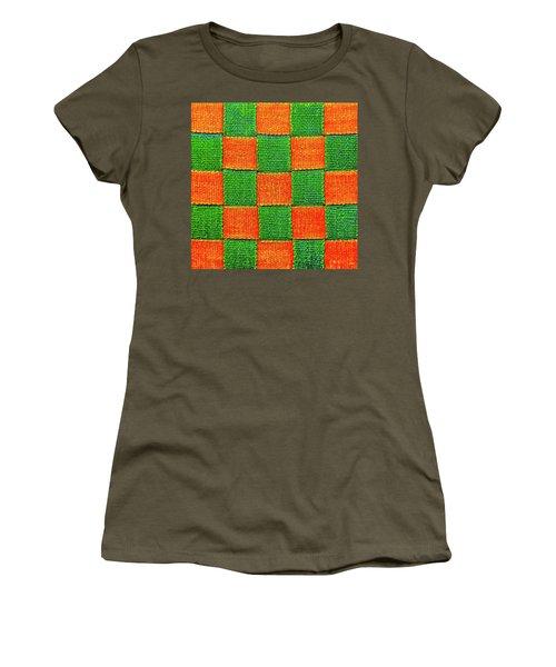 Interlaced Canvas Straps 3 Women's T-Shirt