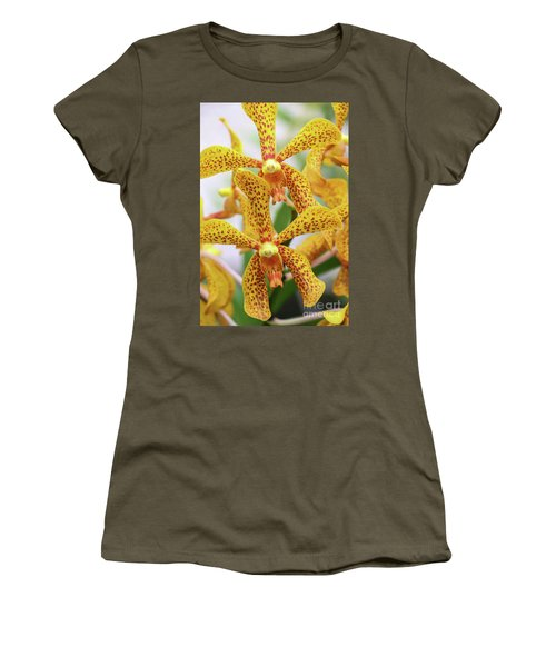 Intriguing Yellow Spider Orchids Women's T-Shirt