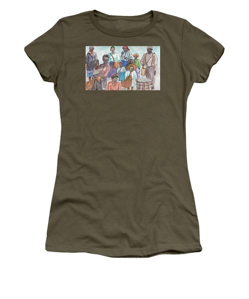 It's Cotton Picking Time At The Spangler Farm In South Alabama Women's T-Shirt