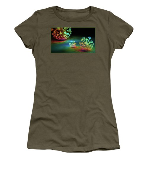 Women's T-Shirt featuring the digital art James by Missy Gainer