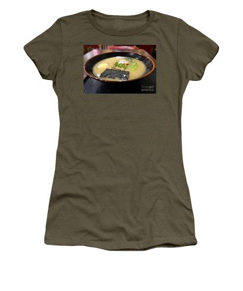 Japanese Miso Noodle Soup Women's T-Shirt