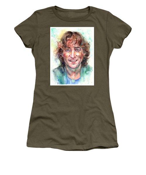 John Lennon Smiling Women's T-Shirt