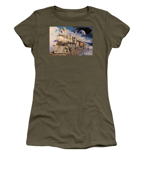 Journey Through The Mists Of Time Women's T-Shirt