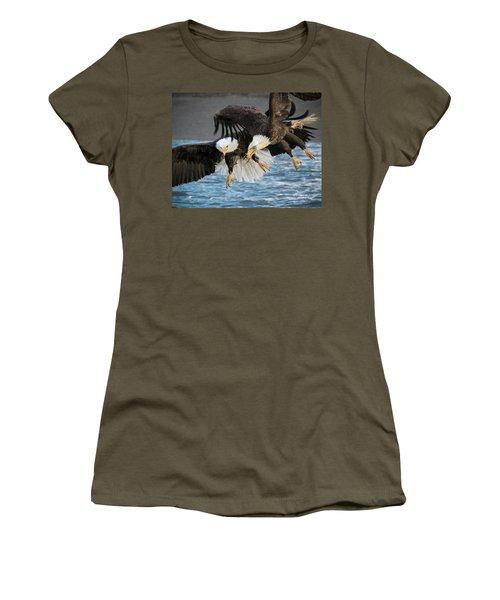 Jousting Eagles Women's T-Shirt