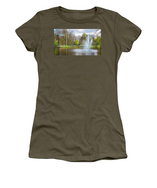 Keukenhof Tulip Garden Holland Women's T-Shirt