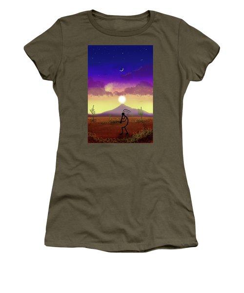 Kokopelli Dream World Women's T-Shirt