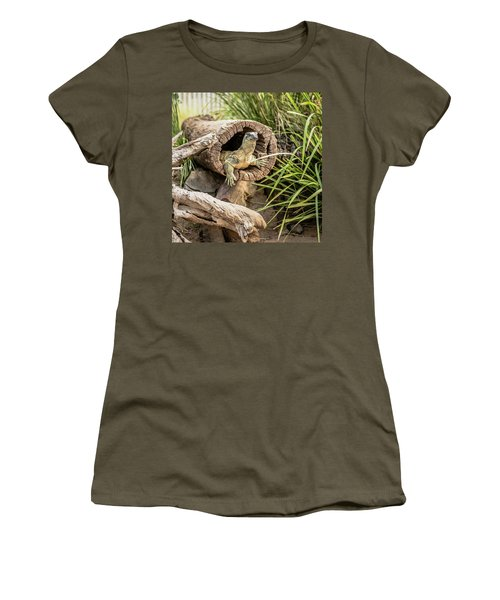Lace Monitor During The Day. Women's T-Shirt