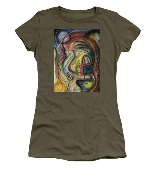 Lady With Purse Women's T-Shirt
