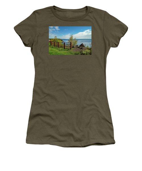 Lake Superior Overlook Women's T-Shirt