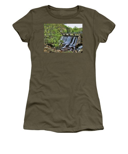 Lake Susan Overflow At Montreat Women's T-Shirt