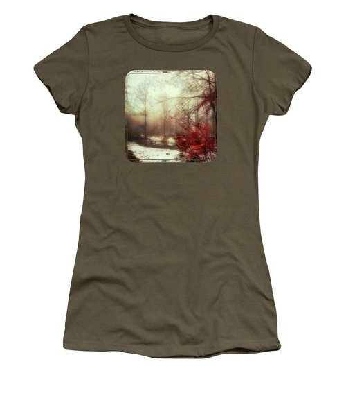 Last Copper- Misty Winter Day Women's T-Shirt