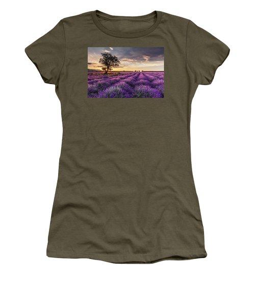 Lavender Sunrise Women's T-Shirt
