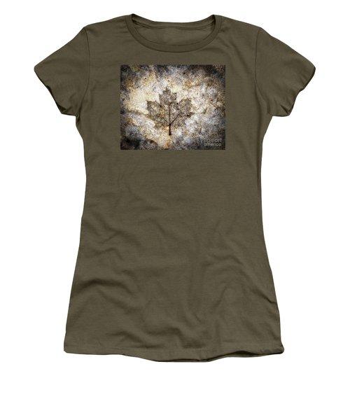 Leaf Imprint Women's T-Shirt