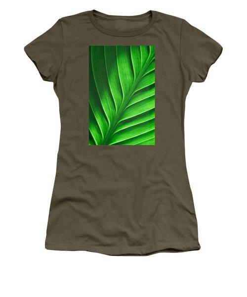 Leaf Pattern Women's T-Shirt