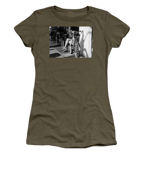 Leg Power - B And W Women's T-Shirt