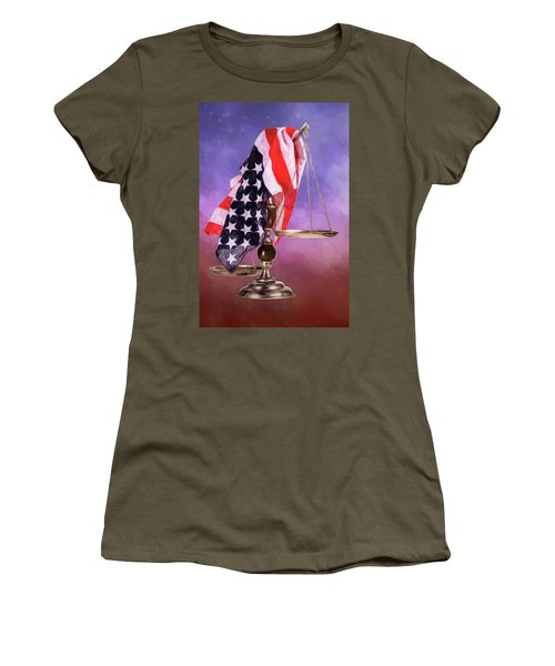 Liberty And Justice For All Women's T-Shirt