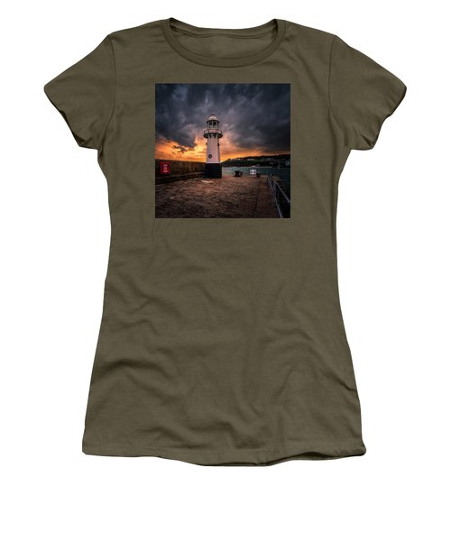 Lighthouse Dramatic Sky Women's T-Shirt