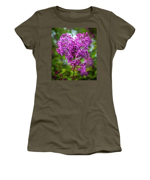 Lilac Heart Women's T-Shirt