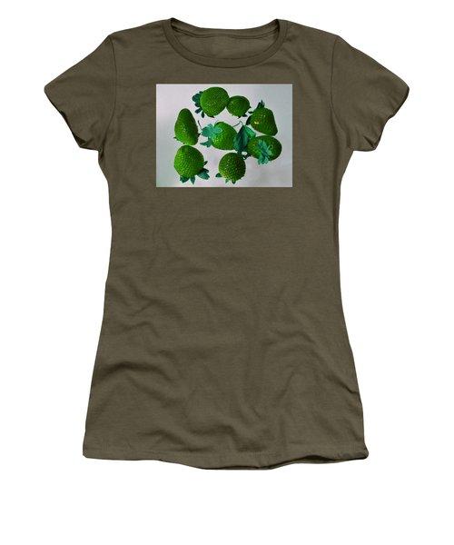 Lime Strawberries Women's T-Shirt
