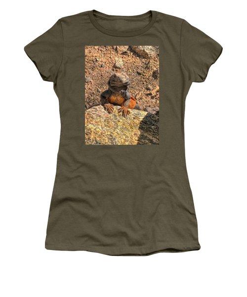 Lizard Portrait  Women's T-Shirt
