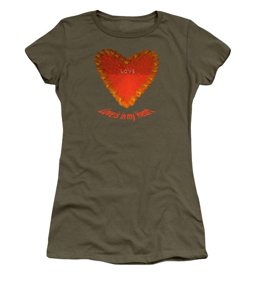 Love Is In My Heart Women's T-Shirt