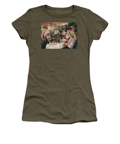 Luncheon Of The Boating Party, 1880-1881 Women's T-Shirt