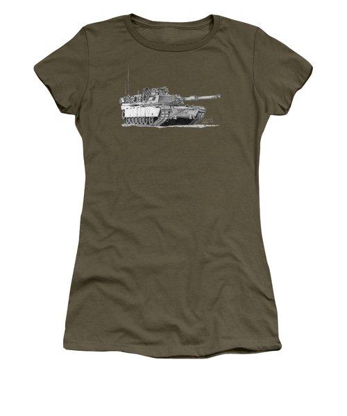 M1a1 C Company 2nd Platoon Commander Women's T-Shirt