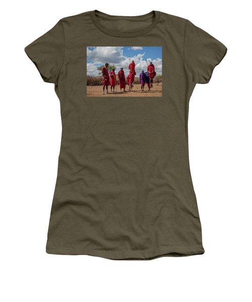 Maasai Adumu Women's T-Shirt