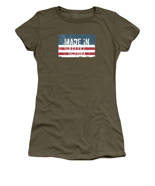 Made In Brooks, California Women's T-Shirt