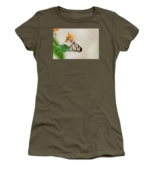 Women's T-Shirt featuring the photograph Made Of Glass by Anjo Ten Kate